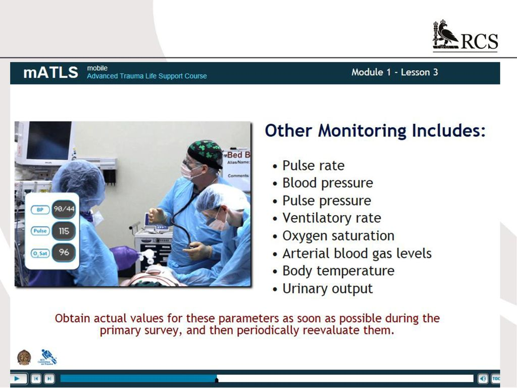 Atls 10th edition update the new course ppt download 46 fandeluxe Image collections