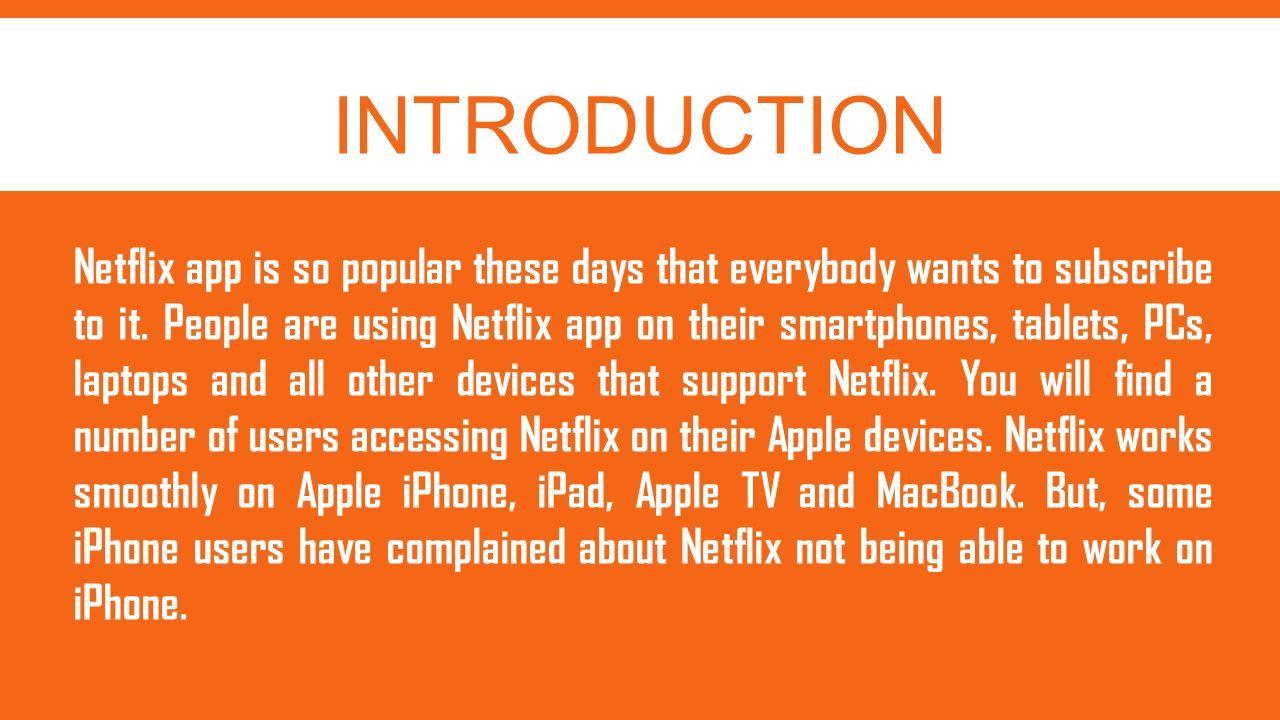 netflix app for macbook