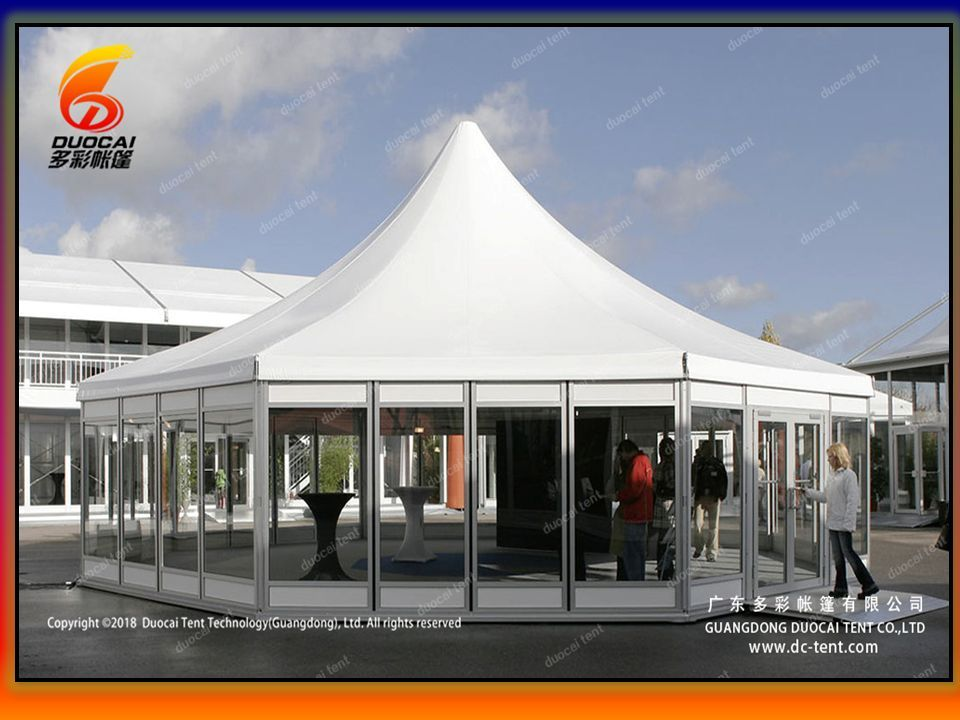 Giant Polygon Tent – Fire Proof Aluminum Top - ppt download