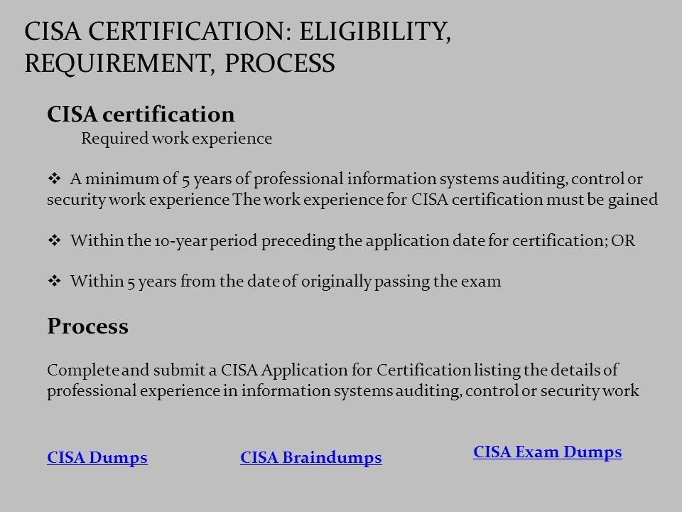 G Cisa Dumps Pdf Certified Information Systems Auditor Cisa