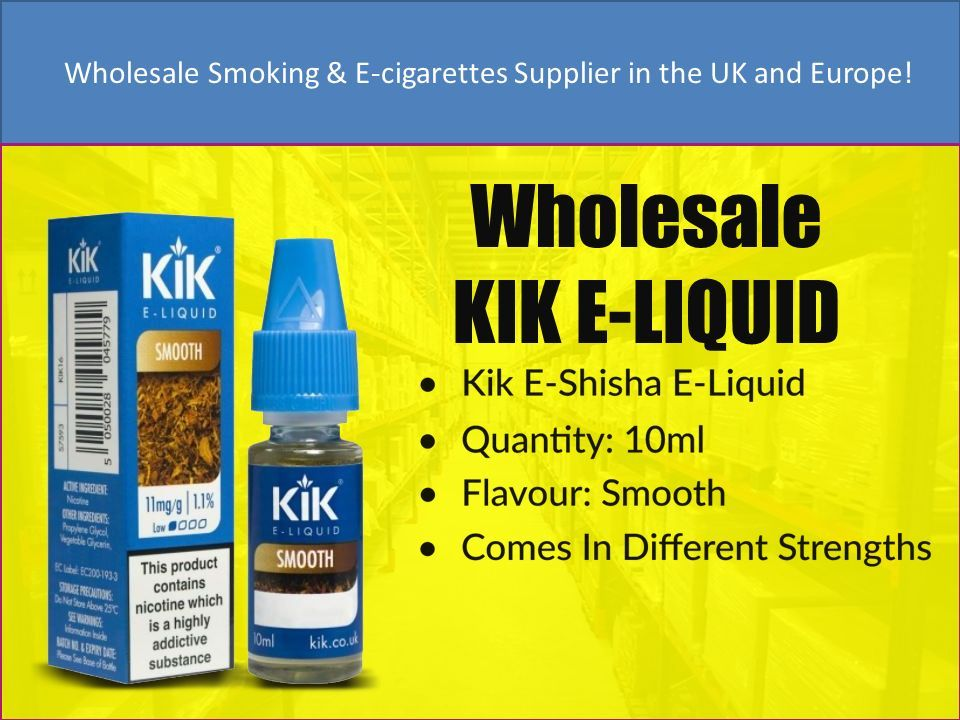 Wholesale Distributor & Supplier of Smoking and Electronic Cigarette