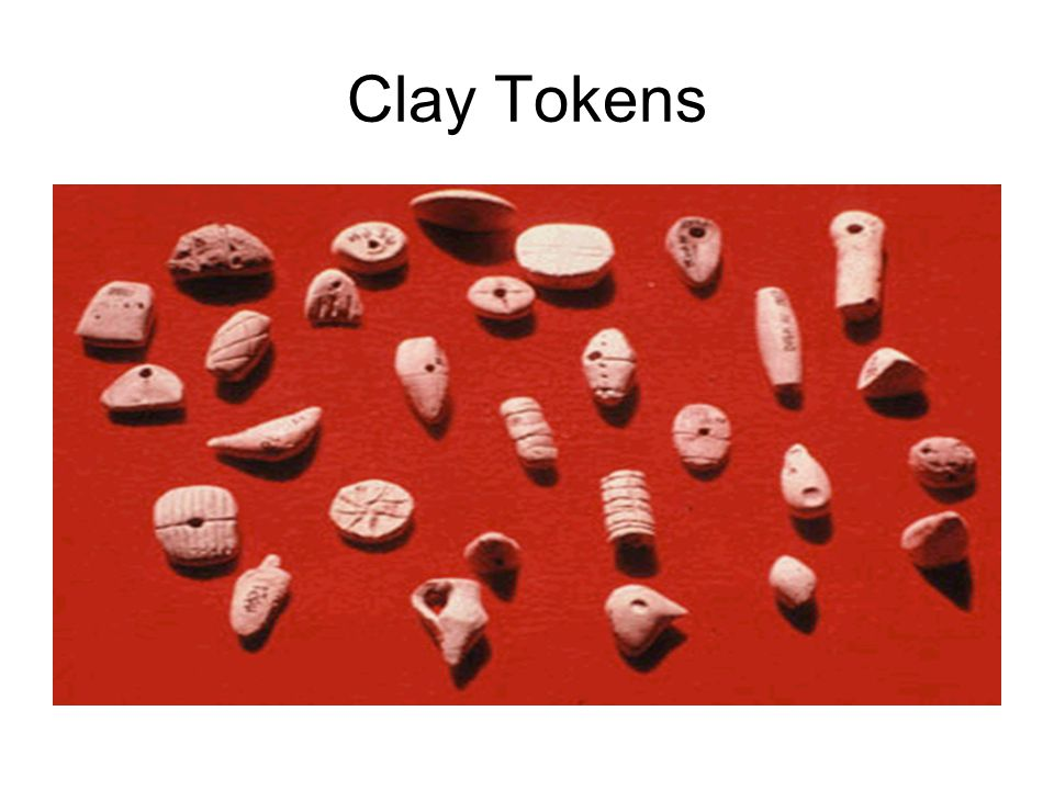 Clay Tokens