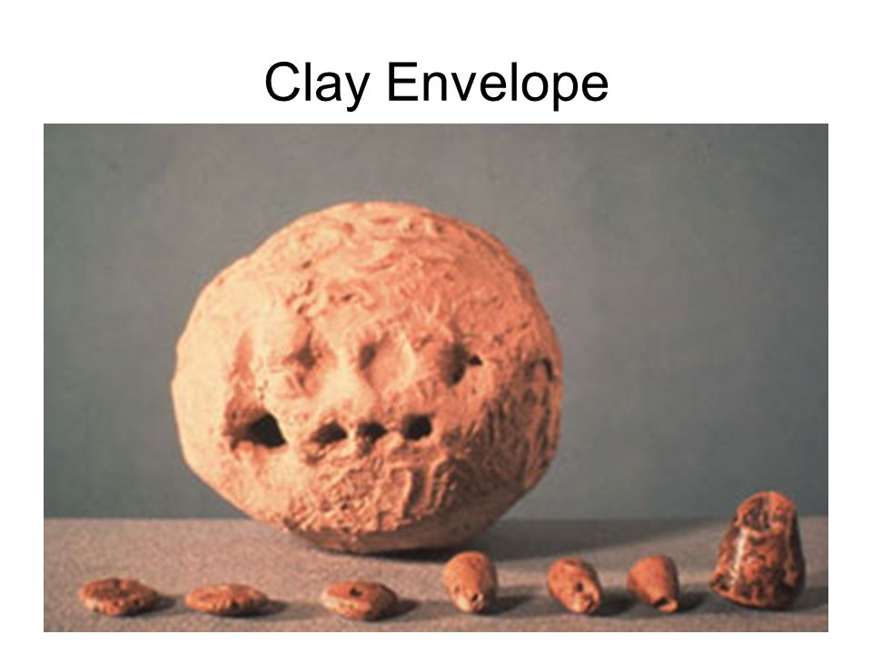Clay Envelope