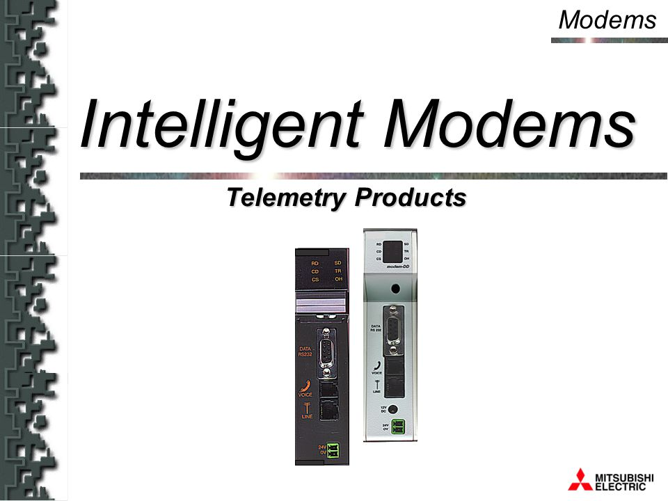 Modems Telemetry Products Intelligent Modems