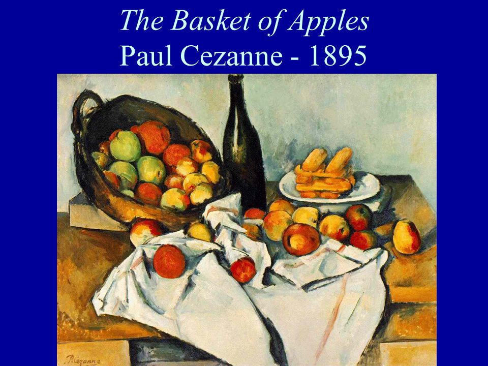 The Basket of Apples Paul Cezanne - 1895
