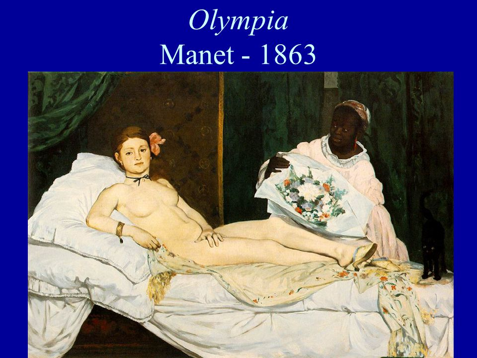 Olympia Manet - 1863
