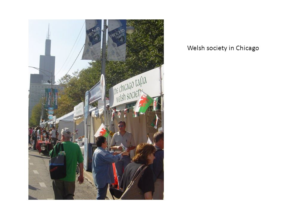 Welsh society in Chicago