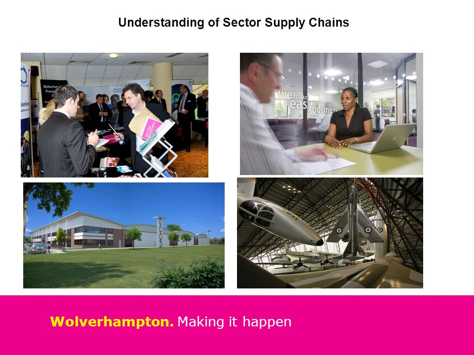 Wolverhampton. Making it happen Understanding of Sector Supply Chains