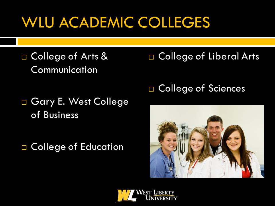 WLU ACADEMIC COLLEGES  College of Arts & Communication  Gary E.