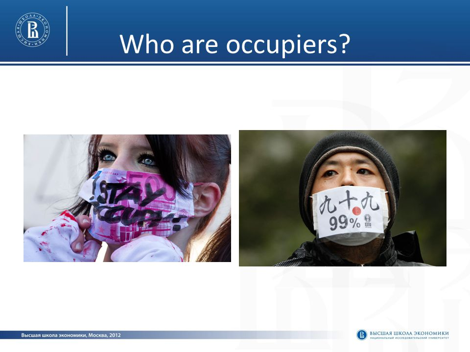 Who are occupiers