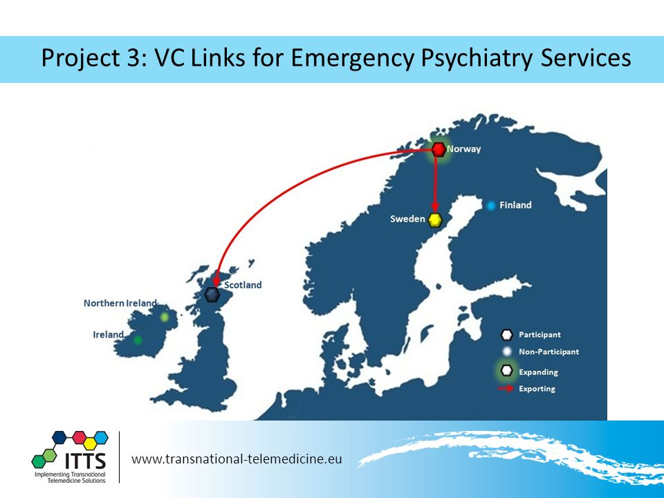 Project 3: VC Links for Emergency Psychiatry Services