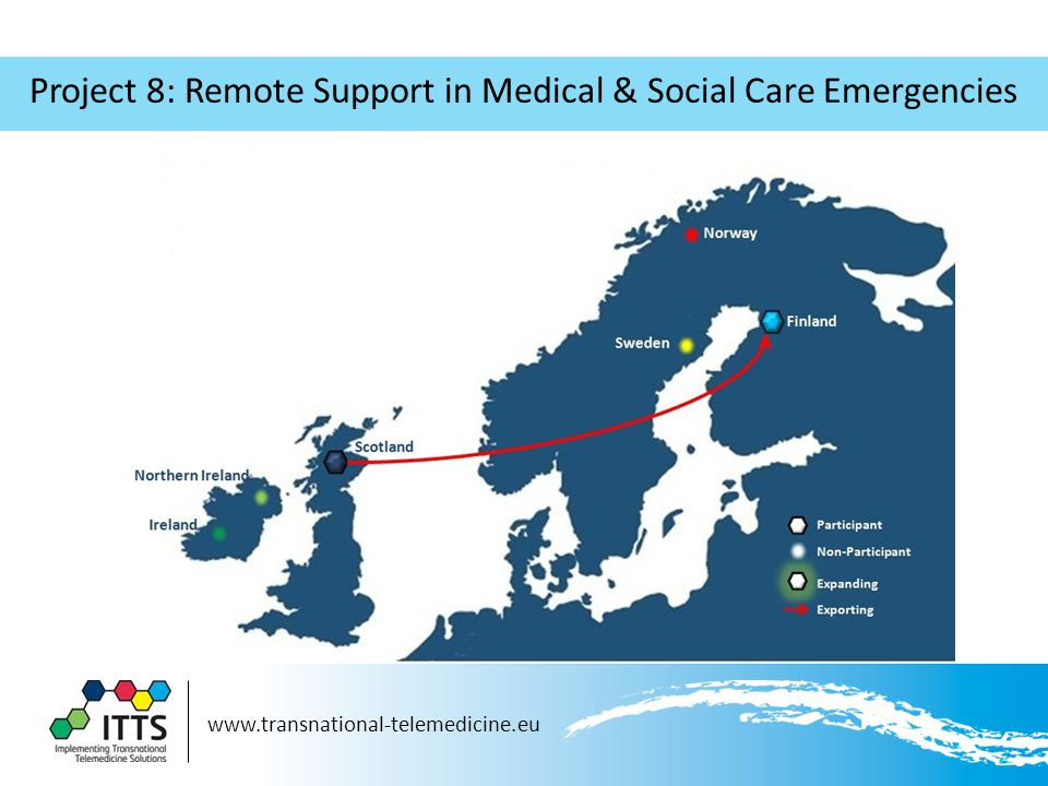 Project 8: Remote Support in Medical & Social Care Emergencies