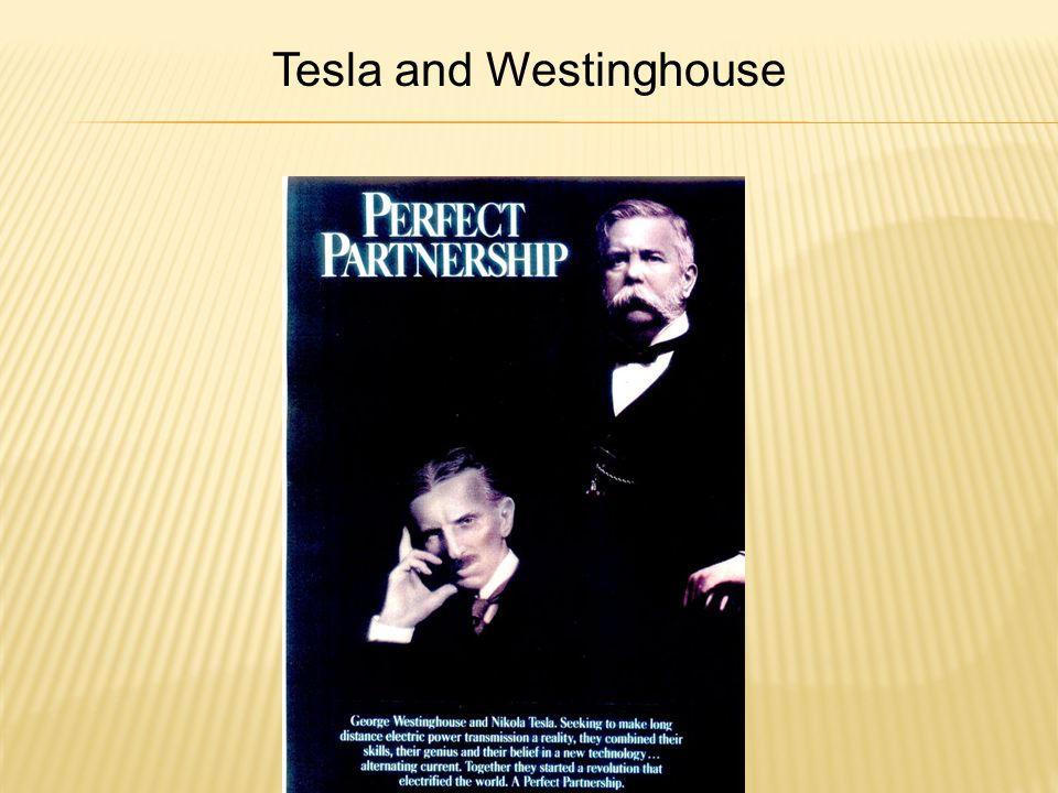 Tesla and Westinghouse