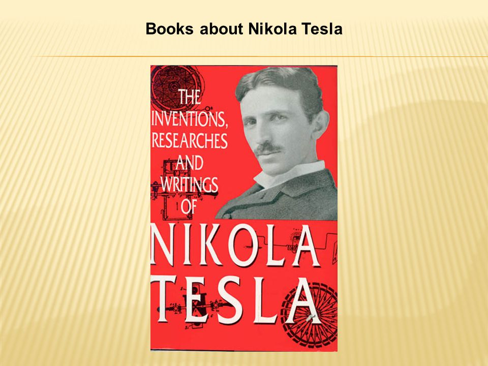 Books about Nikola Tesla
