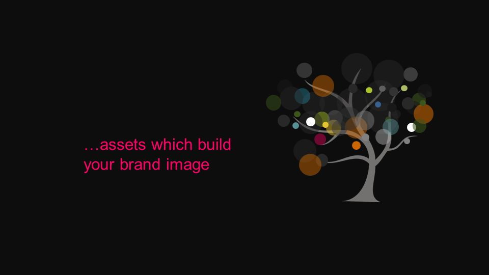 …assets which build your brand image