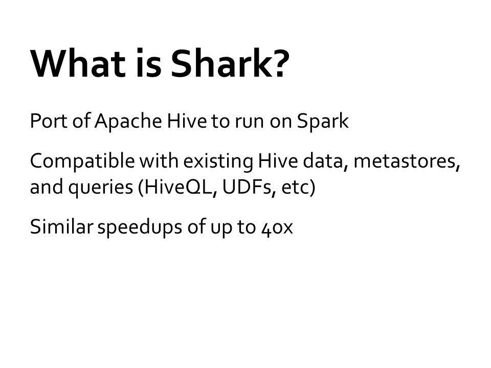 What is Shark.
