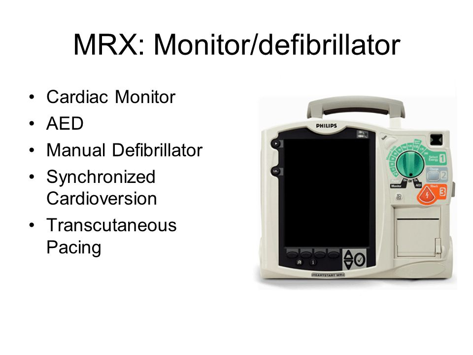 Philips Defibrillator Training FRX (stand alone AED) Used in
