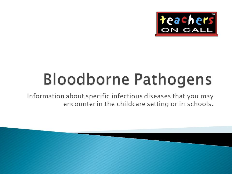 Information about specific infectious diseases that you may encounter in the childcare setting or in schools.