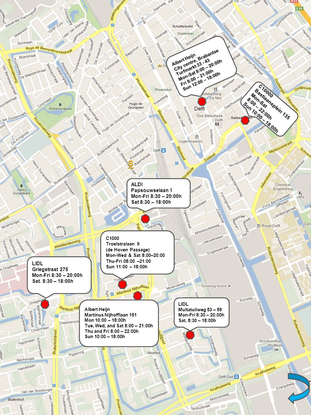 DELFT INTERACTIVE MAP. WHAT ARE YOU LOOKING FOR ...