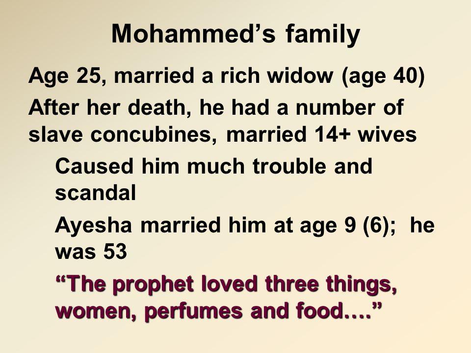 I History And Background God's final prophet Mohammed