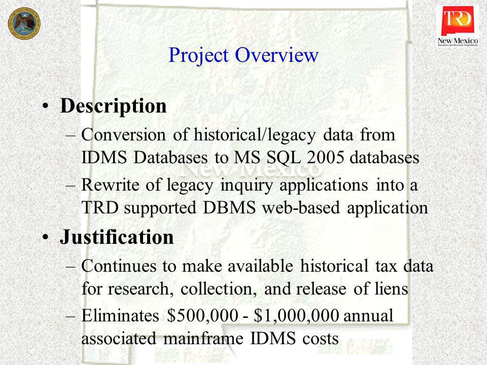 Idms Conversion Certification Presentation 102809 Project