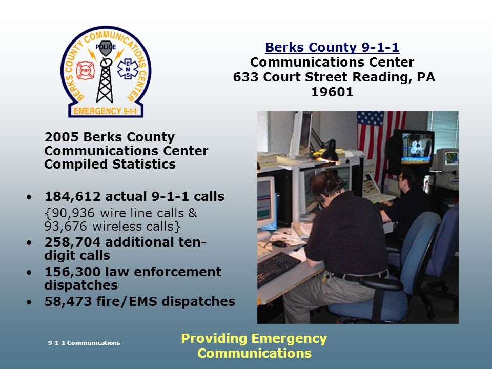 Cover Slide  Berks County Commissioners Berks County