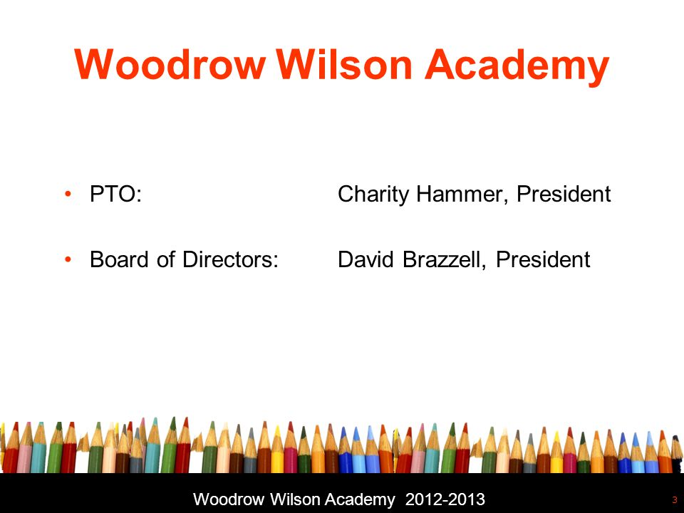 back to school night free powerpoint template 2 woodrow wilson