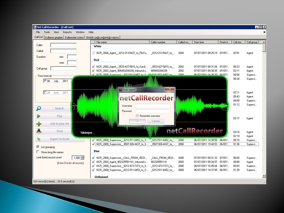 Call Recording System   Net Call Recorder, is software that