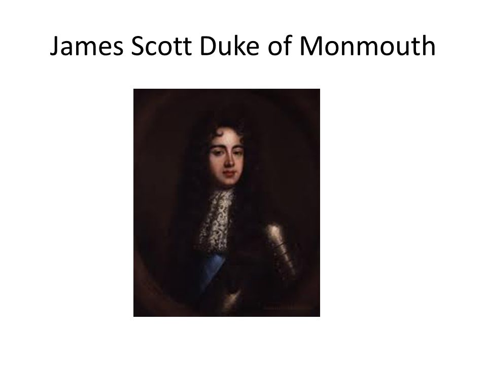 James Scott Duke of Monmouth