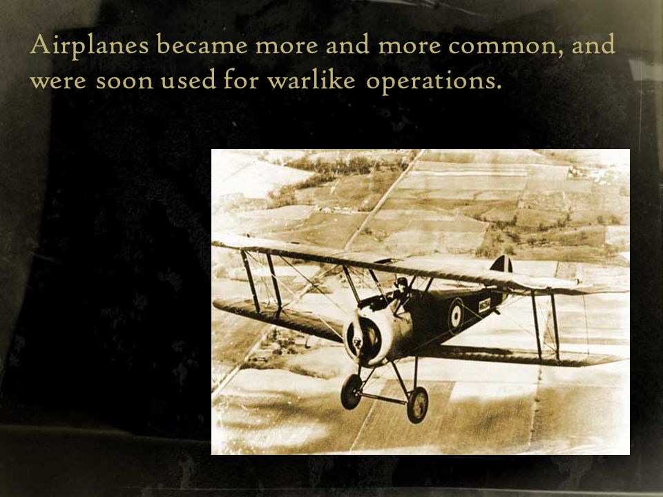 And not before long, the first set of aviation regulations were introduced…