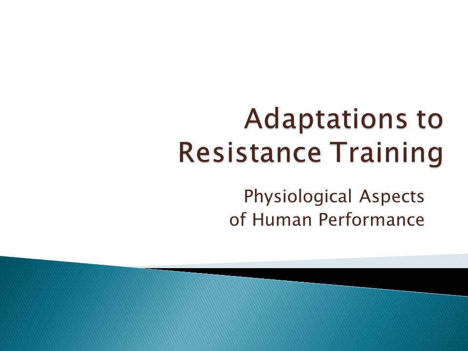 Physiological Aspects of Human Performance