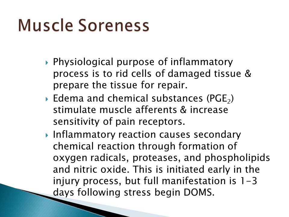  Physiological purpose of inflammatory process is to rid cells of damaged tissue & prepare the tissue for repair.