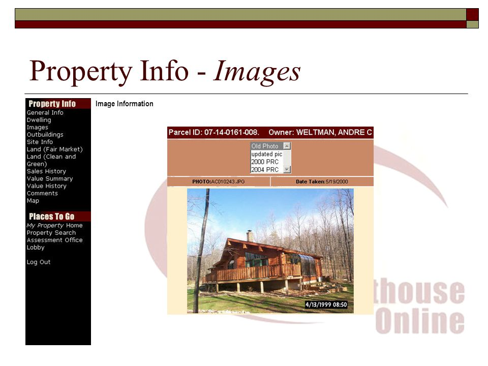 Property Info - Images Image Information