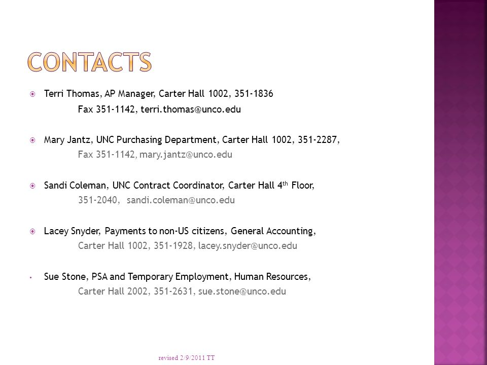 Revised 292011 Tt Definition Of Independent Contractor Types