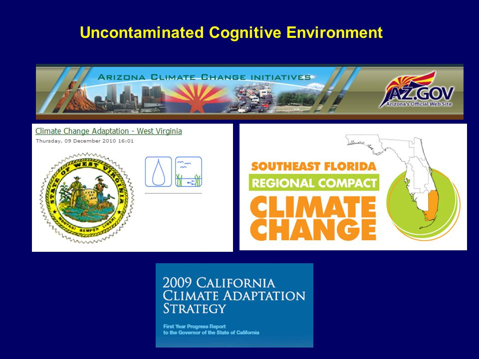 Uncontaminated Cognitive Environment