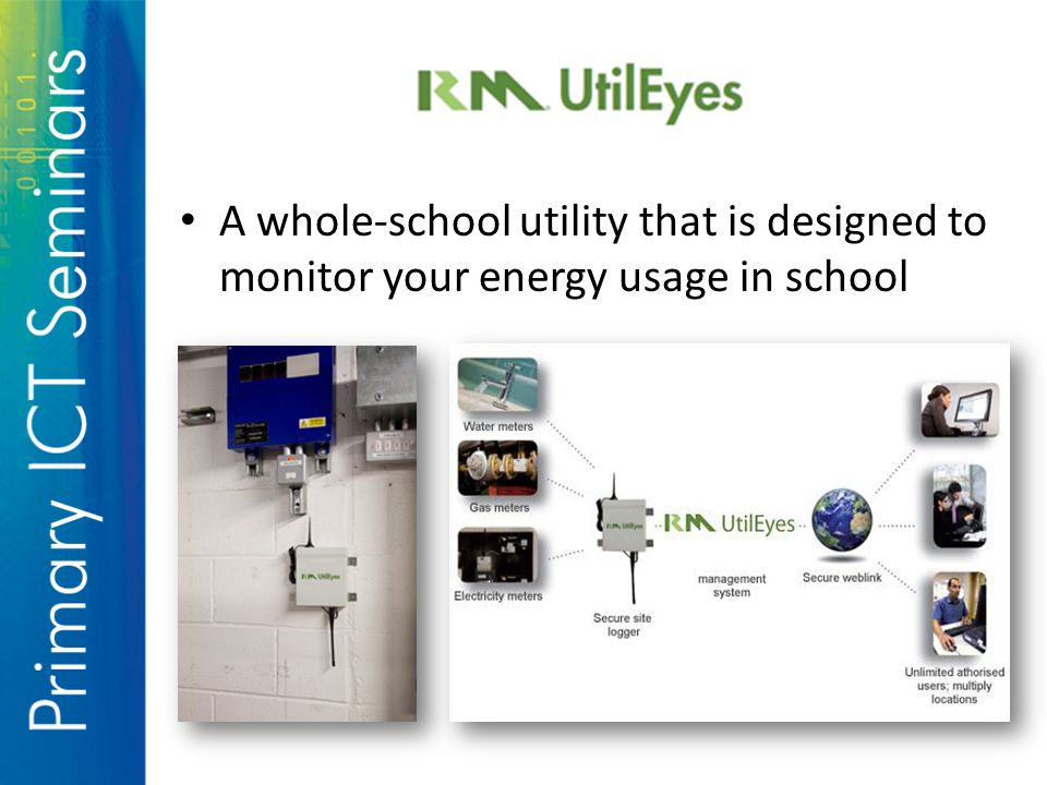 A whole-school utility that is designed to monitor your energy usage in school