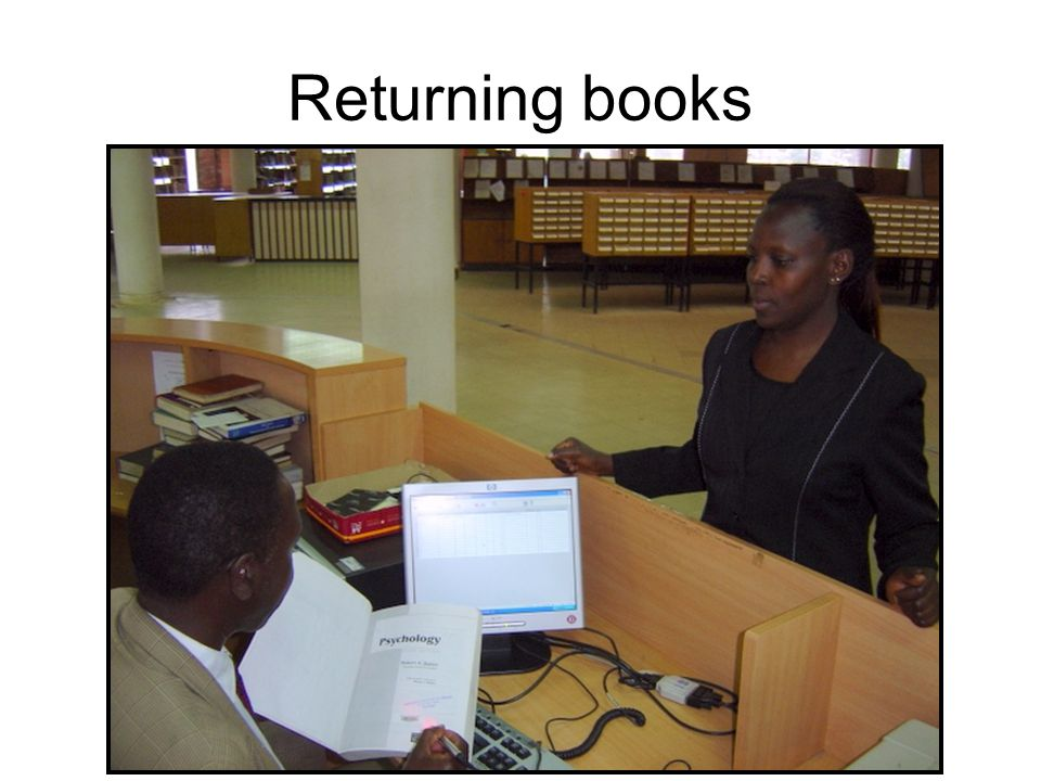Returning books
