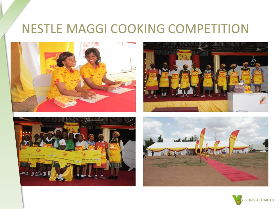 NESTLE MAGGI COOKING COMPETITION VISIONSEAL LIMITED