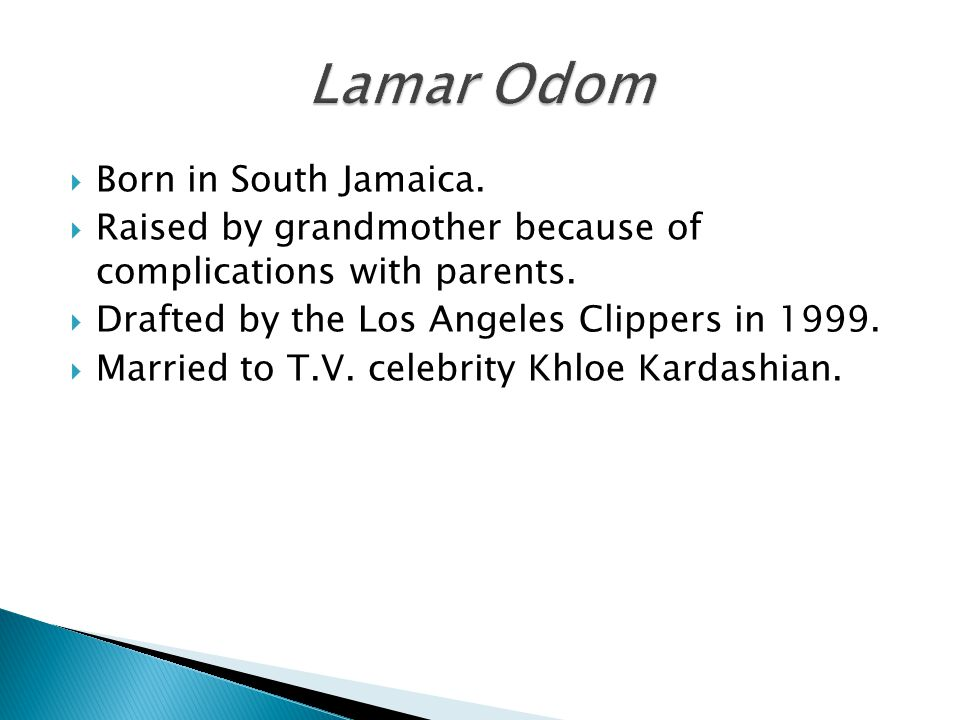  Born in South Jamaica.  Raised by grandmother because of complications with parents.