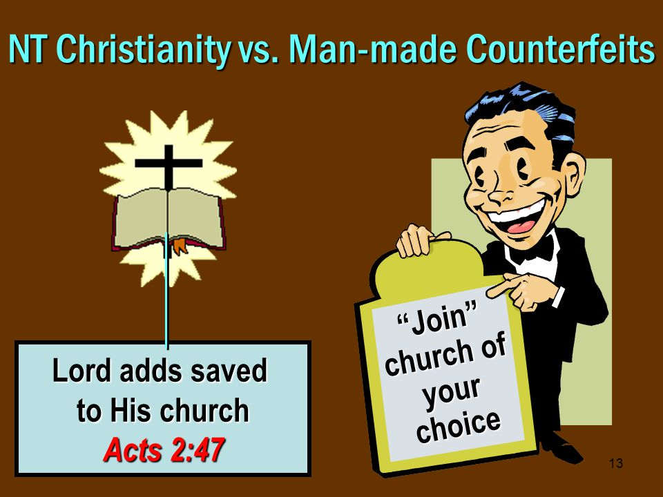 13 NT Christianity vs.