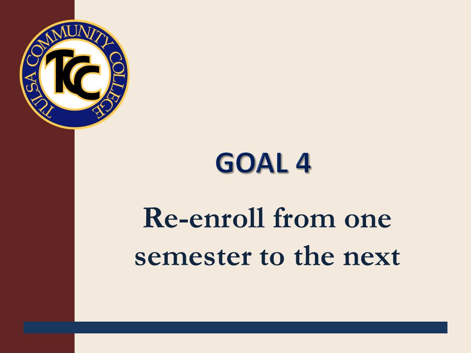 Re-enroll from one semester to the next