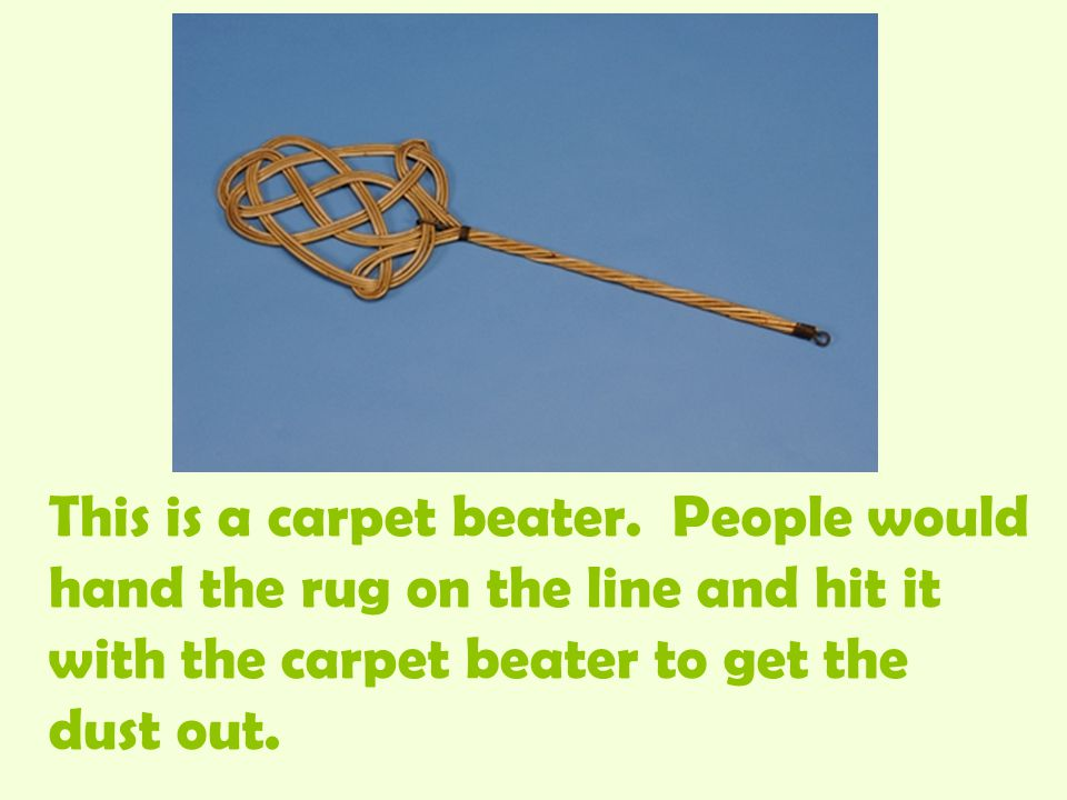 This is a carpet beater.