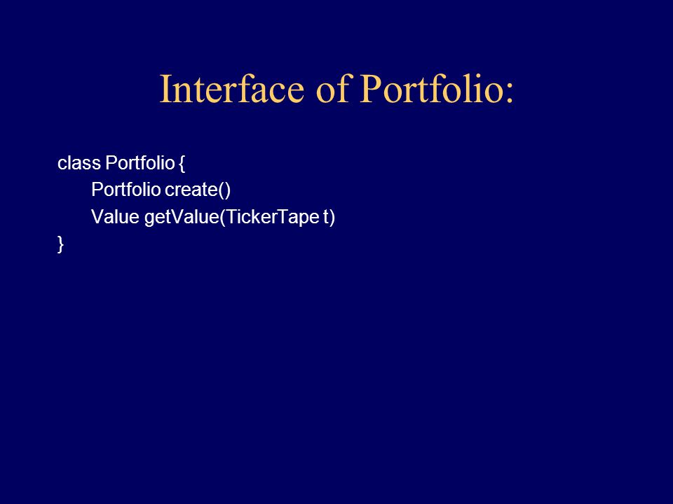 Behavior of Portfolio: get Value, given TickerTape constructor, given a file listing of a portfolio