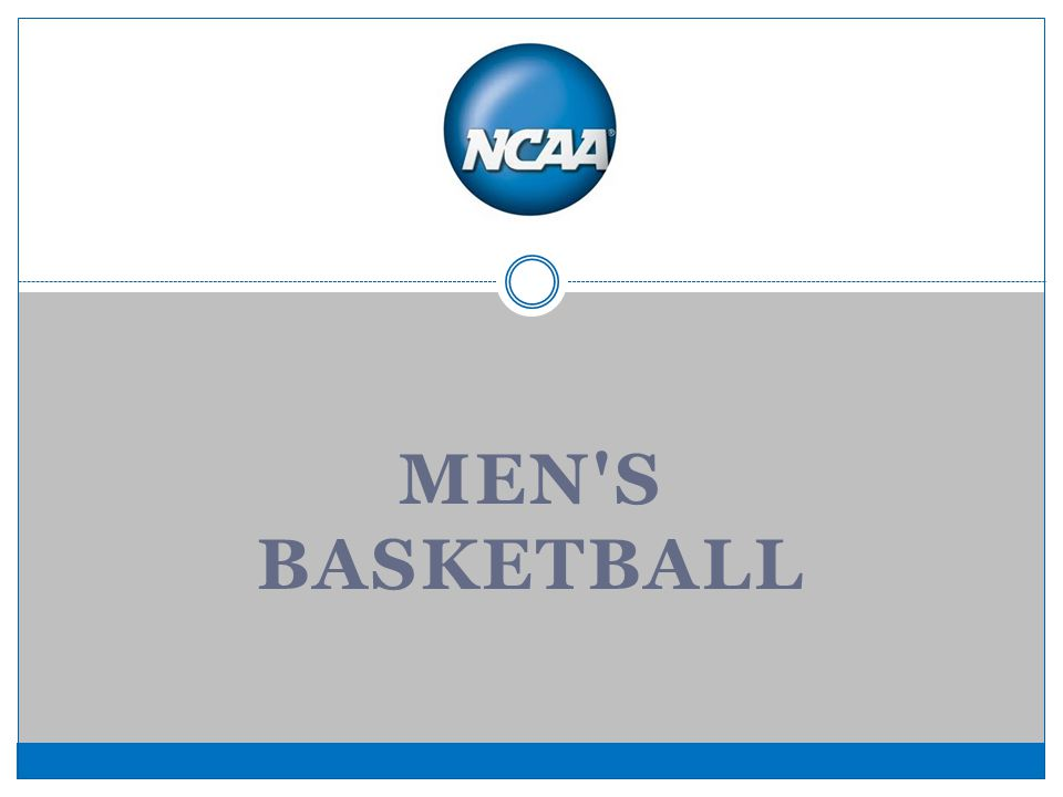 MEN S BASKETBALL