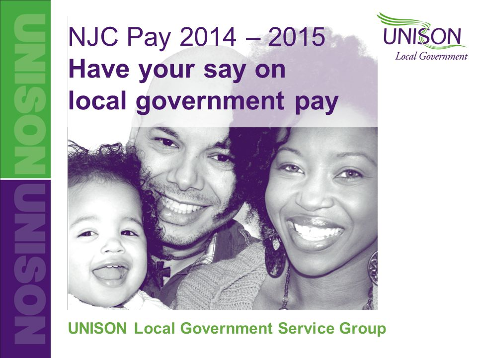 Unison Local Government Njc Pay Njc Pay 2014 2015 Have Your Say On