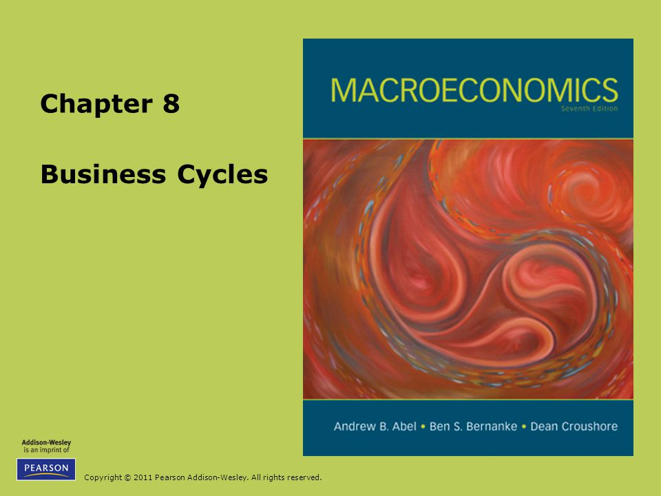 Copyright © 2011 Pearson Addison-Wesley. All rights reserved. Business Cycles Chapter 8