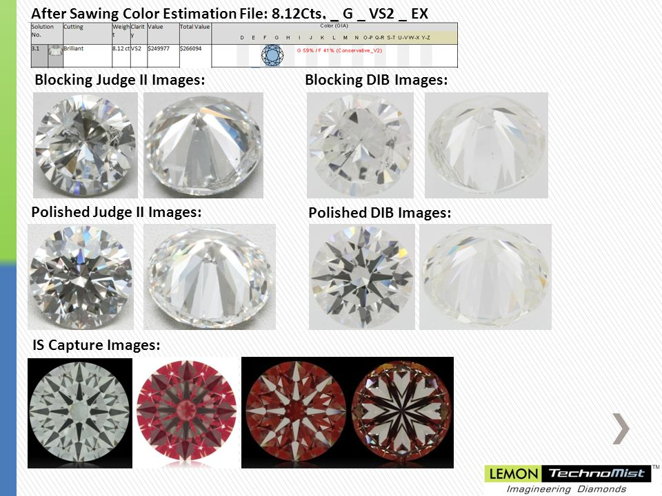 _ After Sawing Color Estimation File: 8.12Cts.