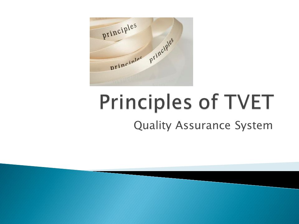 Quality Assurance System