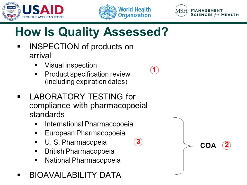How Is Quality Assessed.