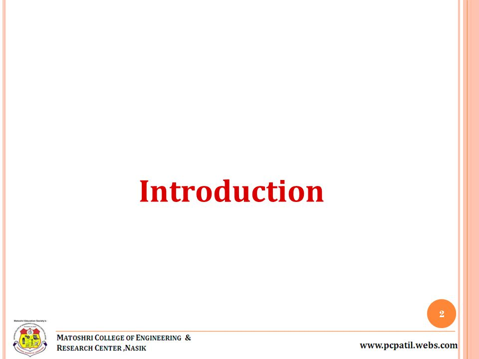 Introduction 2
